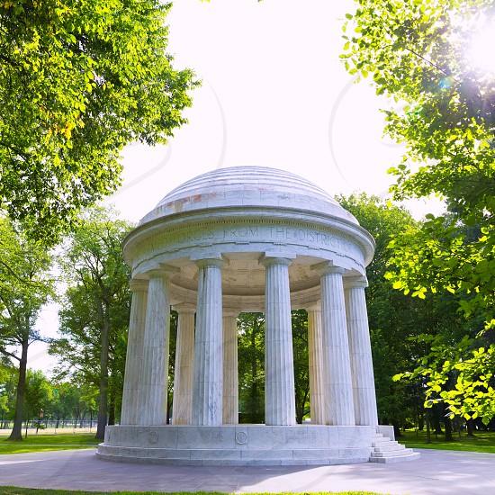 DC District of Columbia War Memorial in Washington US USA photo