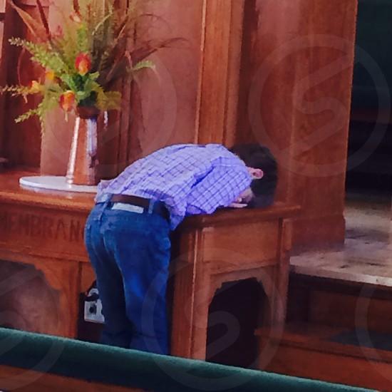Praying  photo