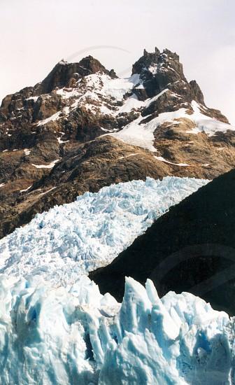 Spegazzini glacier Los Glaciares Park Argentina photo