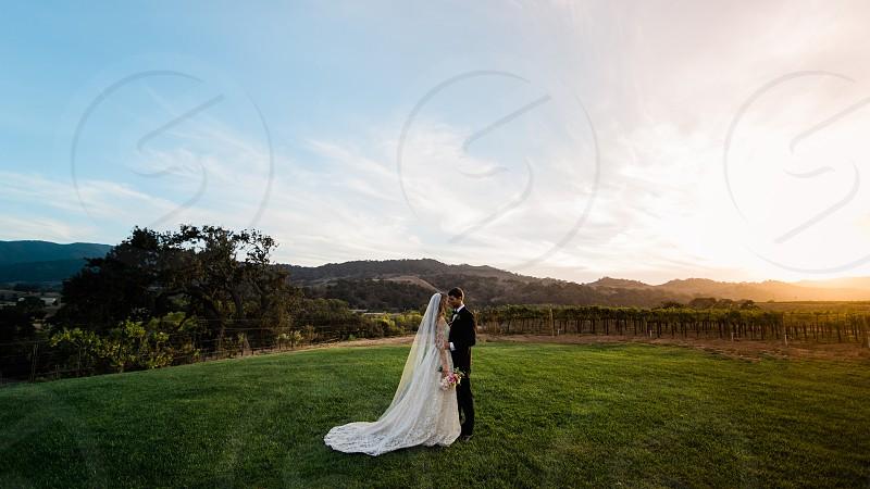 Creative styled shoot at a winery photo