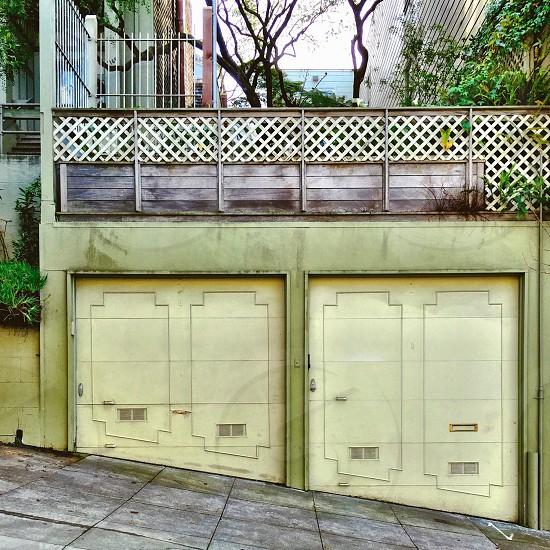 Garage doors  photo