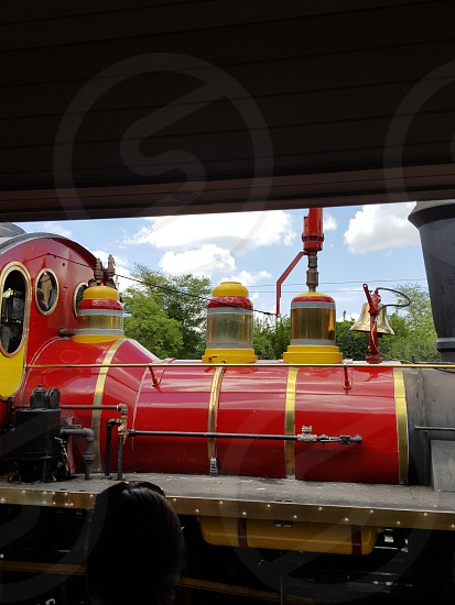 Train at Busch Gardens Tampa photo