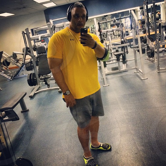 The workout photo