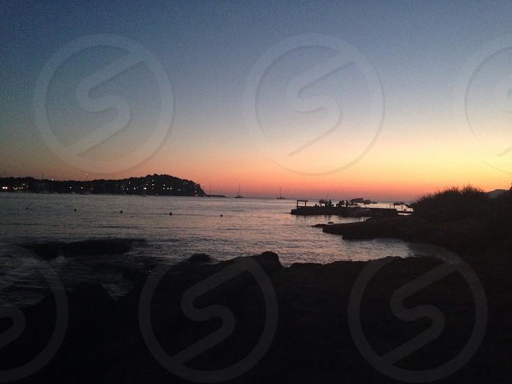 Sunset in Majorca  photo