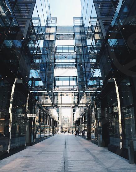 Architecture building symmetry cityscape  photo
