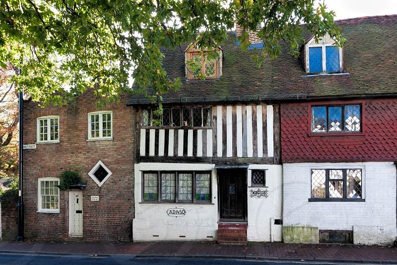 Ye Olde Lock Up and Windsor Cottage High Street East Grinstead photo