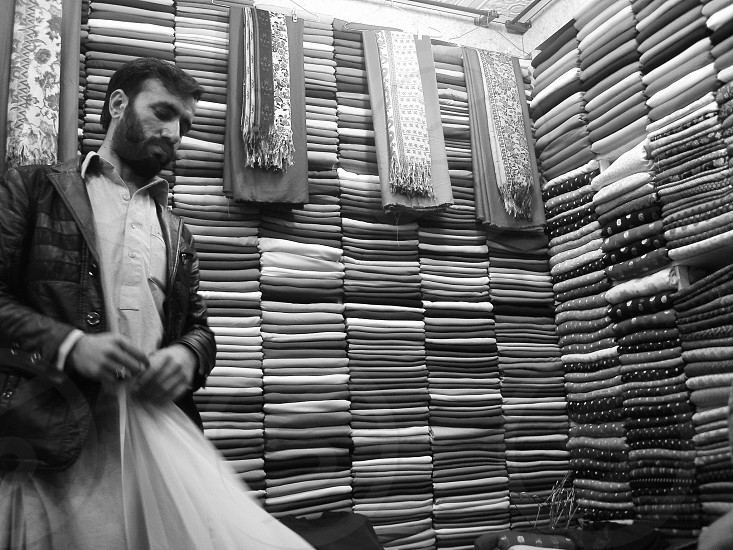 bazaar merchant photo