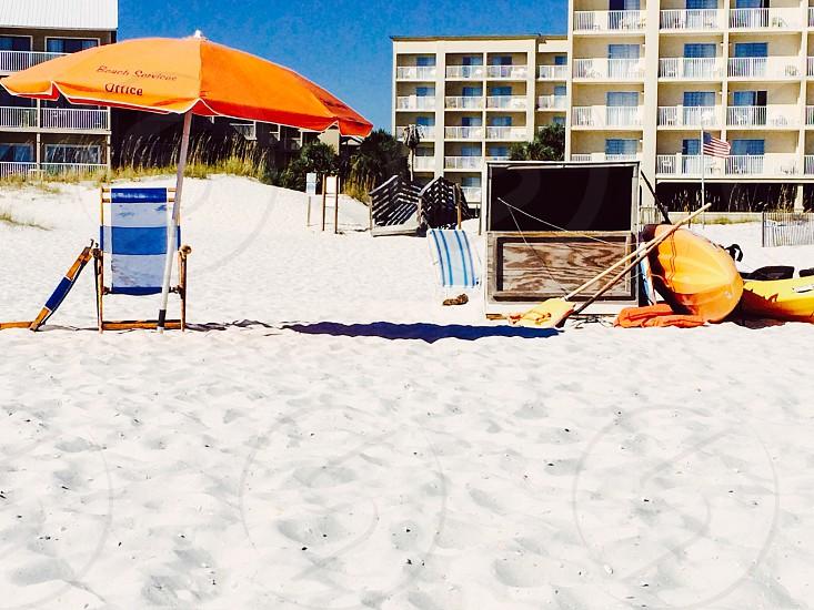 Orange beach photo