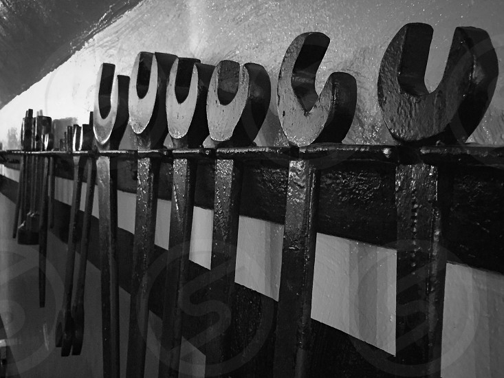 Tools on the wall photo