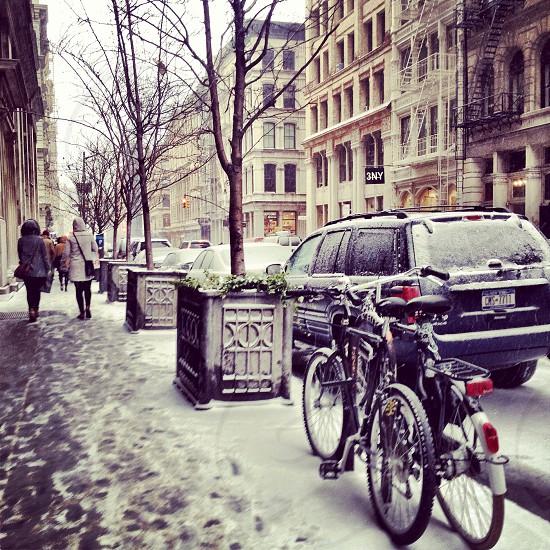 Let it snow! SOHO NYC. photo
