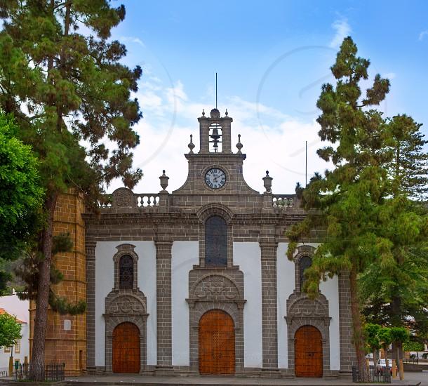 Gran Canaria Teror church Basilica Nuestra senora del Pino in Canary Islands photo