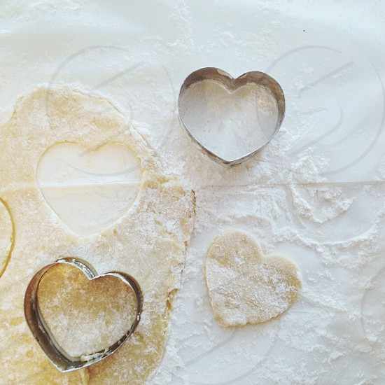 heart cookie cutter photo