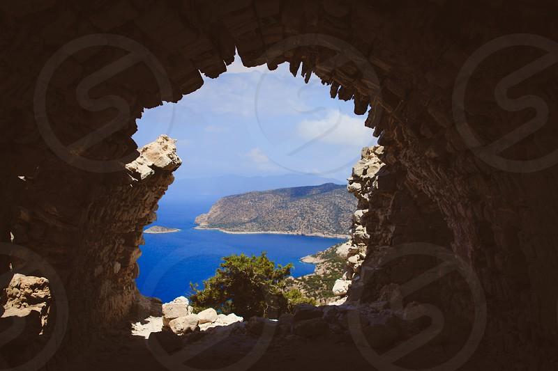 Frame Within a Frame Greece Rhodes   photo