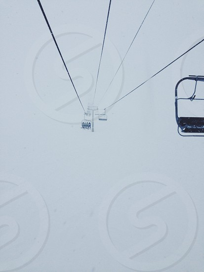 Chairlift to heaven  photo