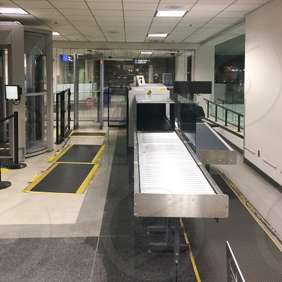 AirPort security check point photo