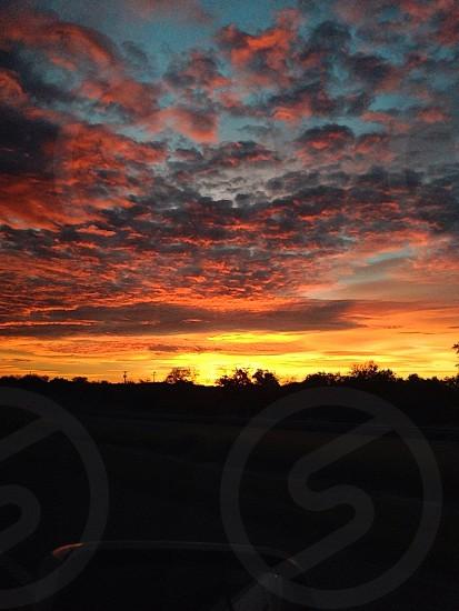 San Antonio sunset  photo