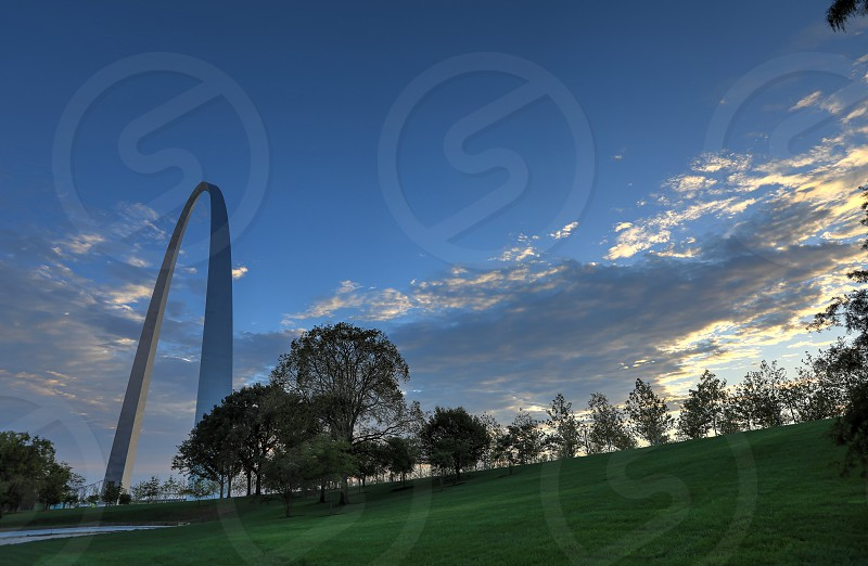 Gateway Arch in St. Louis Missouri photo
