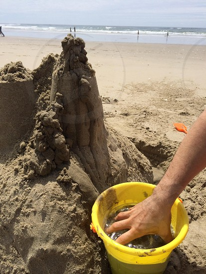sea sand formation photo