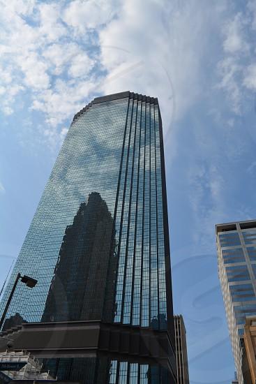 Building shadows.  Downtown Minneapolis. photo