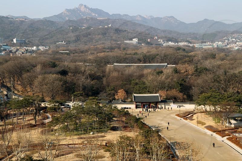 Jongmyo shrine in central Seoul South Korea photo