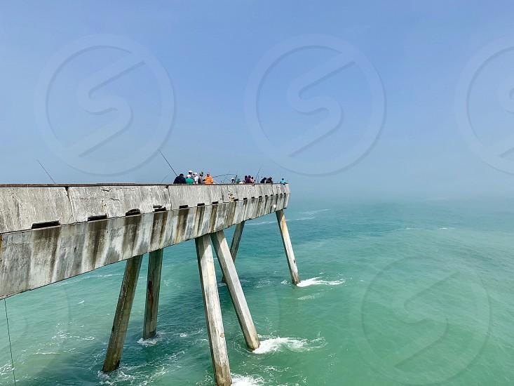 Pier ocean photo