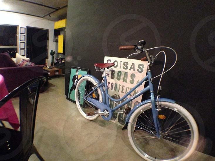 apartamento bicicleta bike decoration interior photo