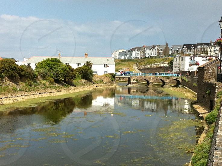 Bridge in bude centre photo