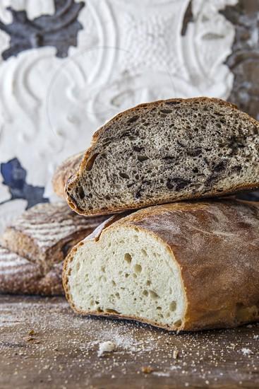 bread fresh baked artisan baker chef food loaves loaf eat photo