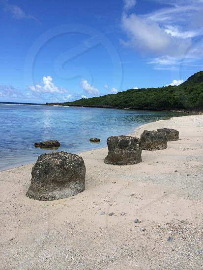 Taken on the shores of Saipan Northern Marianas Island photo