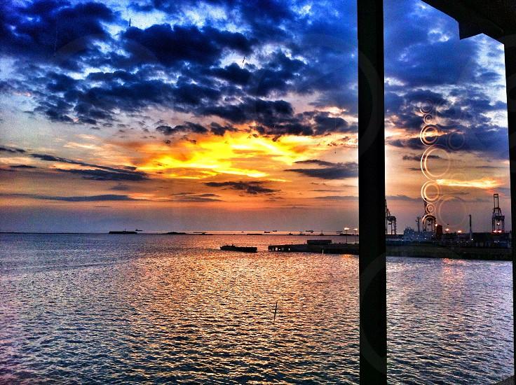 Manila bay sunset photo