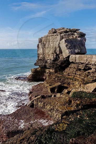 View of the Jurassic Coastline in Dorset photo
