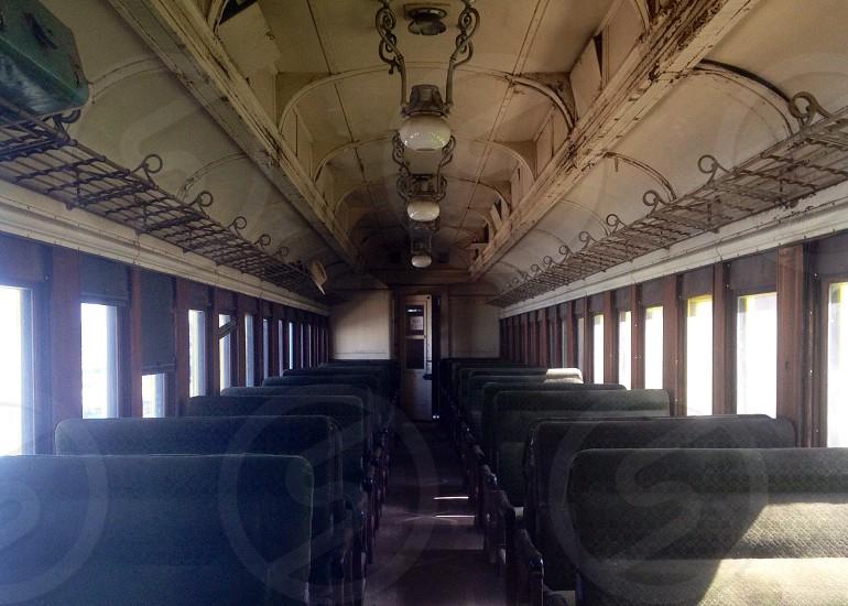 train interior view photo