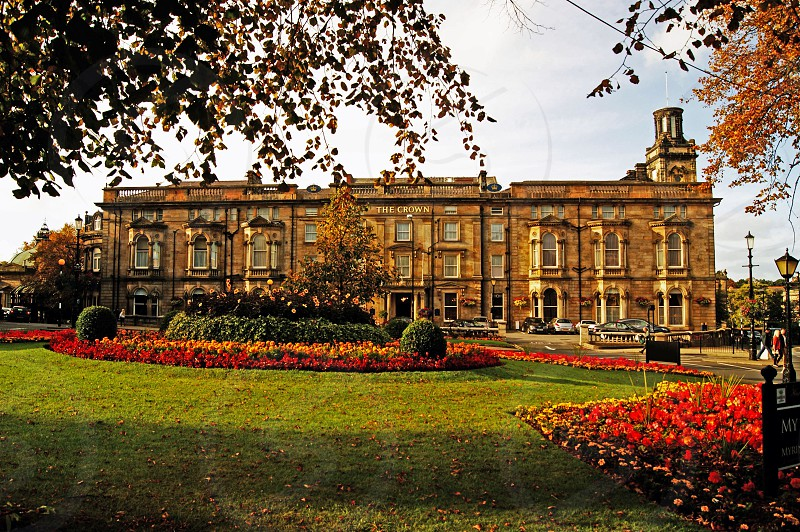 UK. ENGLAND. HARROGATE. Yorkshire. The Crown Hotel. photo