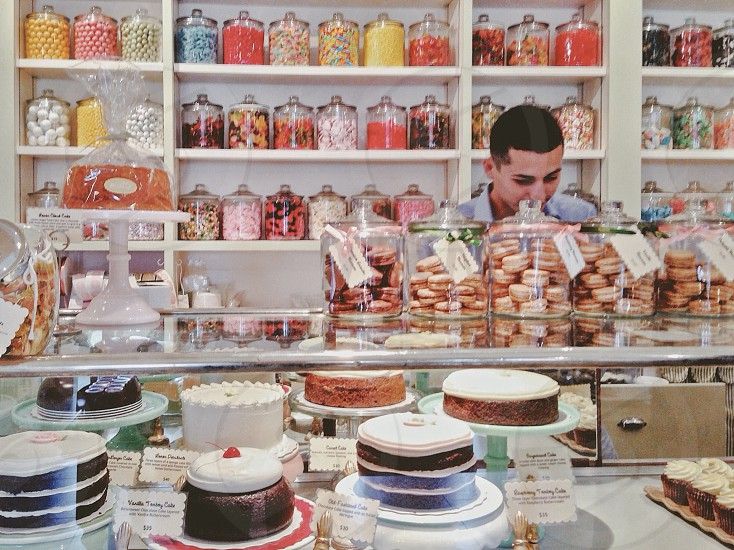 Bakery candy store  photo