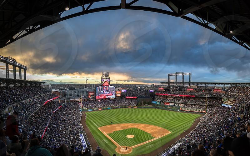 Impressions around the Coors Field stadium of Denver photo