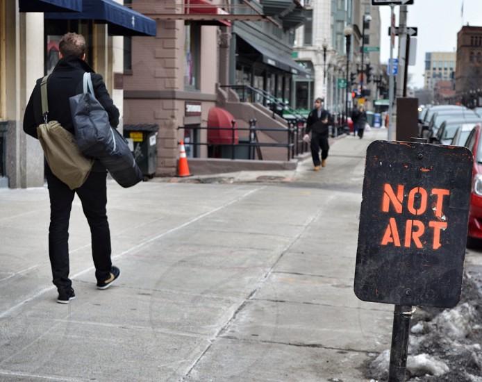 Not Art. Boston MA photo