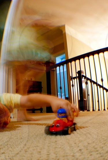 In Motion on the go. Playtime photo