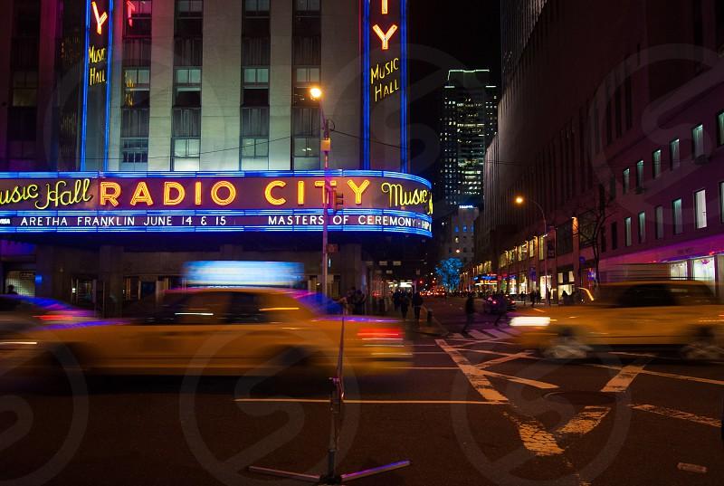 radio city music hall photo