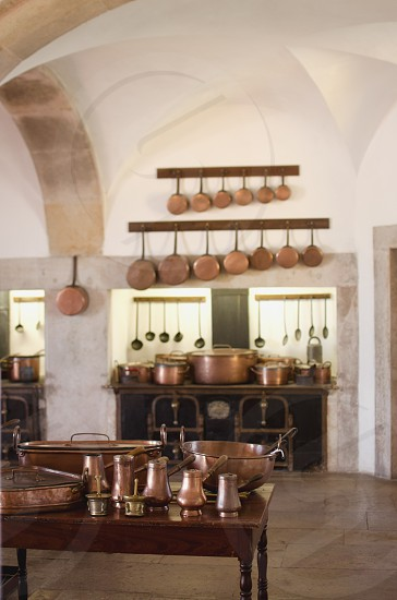 Details inside the kitchen of the Pena palace photo