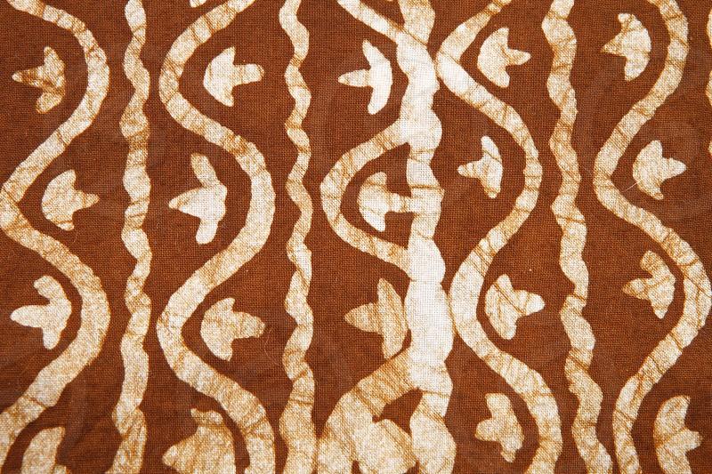 Pattern - African fabric photo