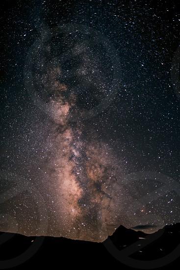 Starry night. photo