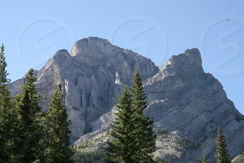 Mount Galatea Rocky Mountains Alberta photo