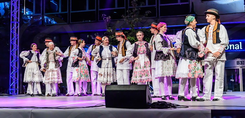 Dancers & Cameras - Sarajevo Bosnia and Herzegovina  photo