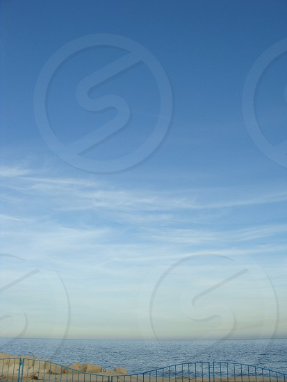 view of blue sky photo