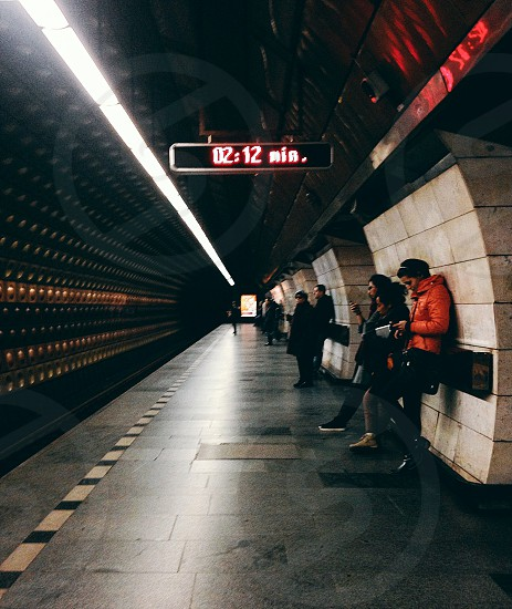 Subway in Prague photo