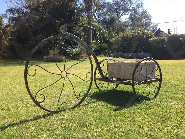 Garden bike photo