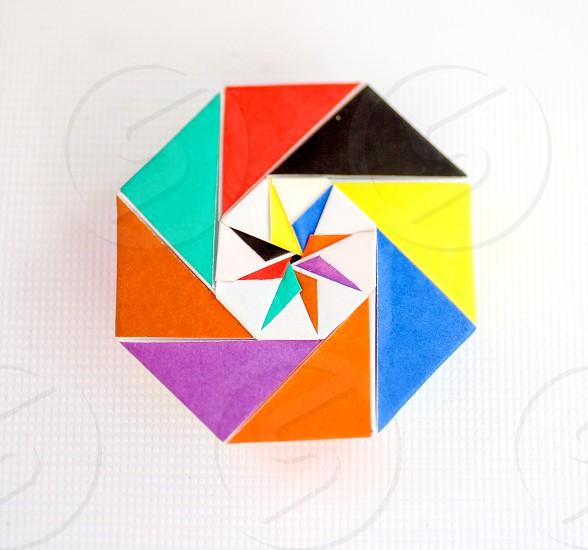 multi colored logo photo