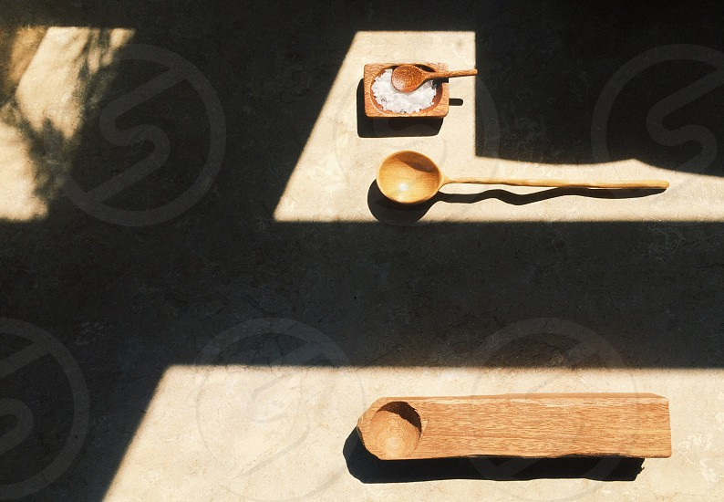 Spoon carving woodwork spoon  photo