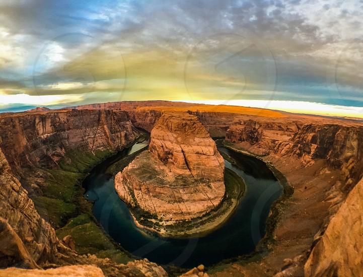 horse shoe rock arizona photo photo
