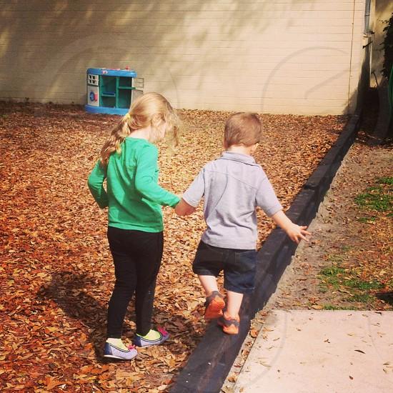 Lending a helping hand photo
